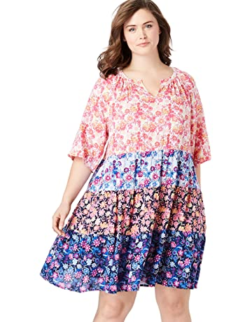 Women\'s Plus Casual Dresses | Amazon.com