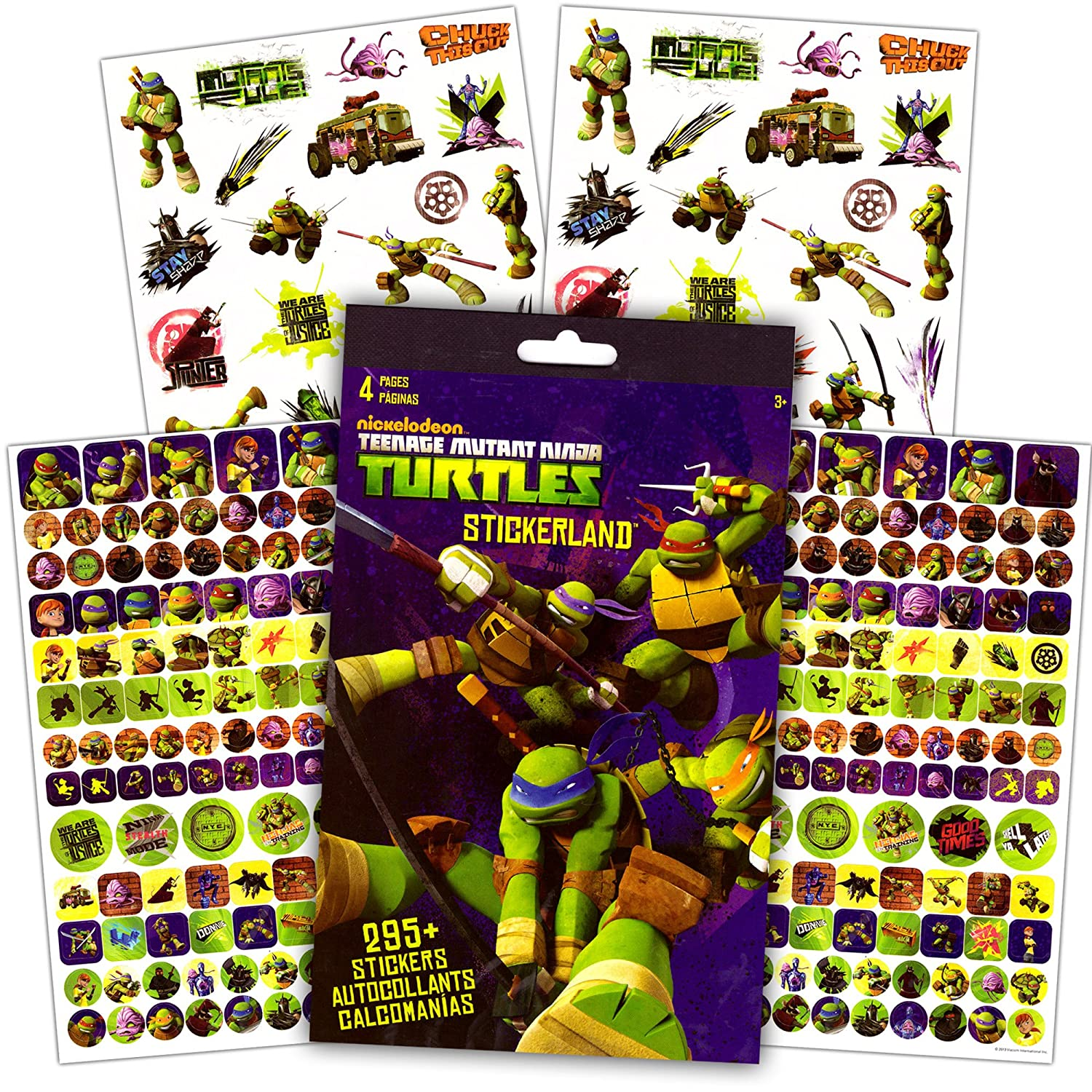Amazon.com: TMNT Teenage Mutant Ninja Turtles Coloring & Activity ...