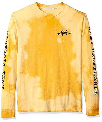 89e89f56ba02 Amazon.com  Obey Men s Anti-Violence Dyed Long Sleeve Tshirt  Clothing
