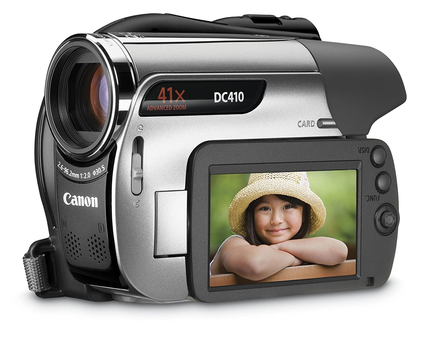 Amazon.com : Canon DC410 DVD Camcorder with 41x Optical Zoom : Dvd Digital  Camcorders : Camera & Photo