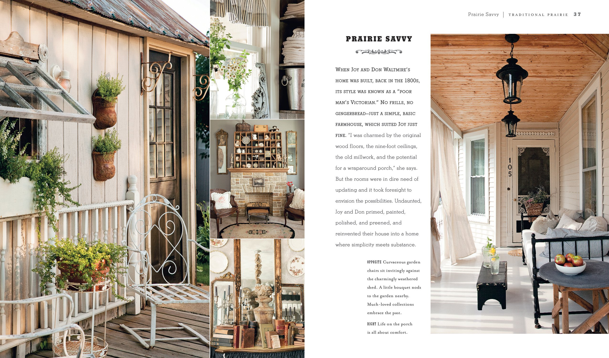 Romantic Prairie Style: Homes inspired by traditional country life ...