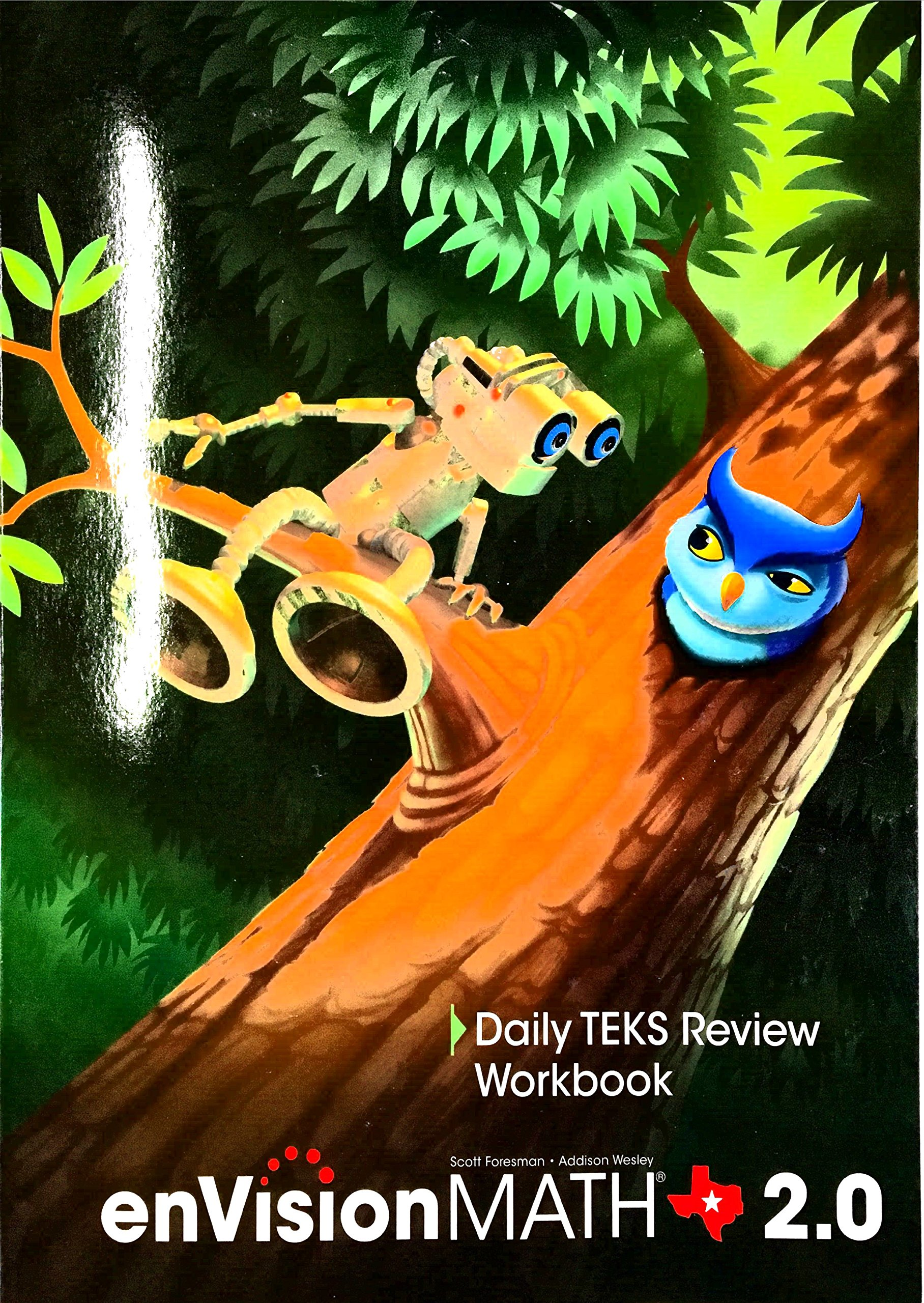 Read Online Texas - EnVision MATH 2.0 - Daily TEKS Review Workbook - Grade 1 PDF