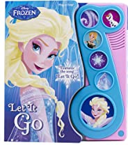 Disney Frozen - Let It Go Little Music Note Sound Book - PI Kids (Play-A-Song)