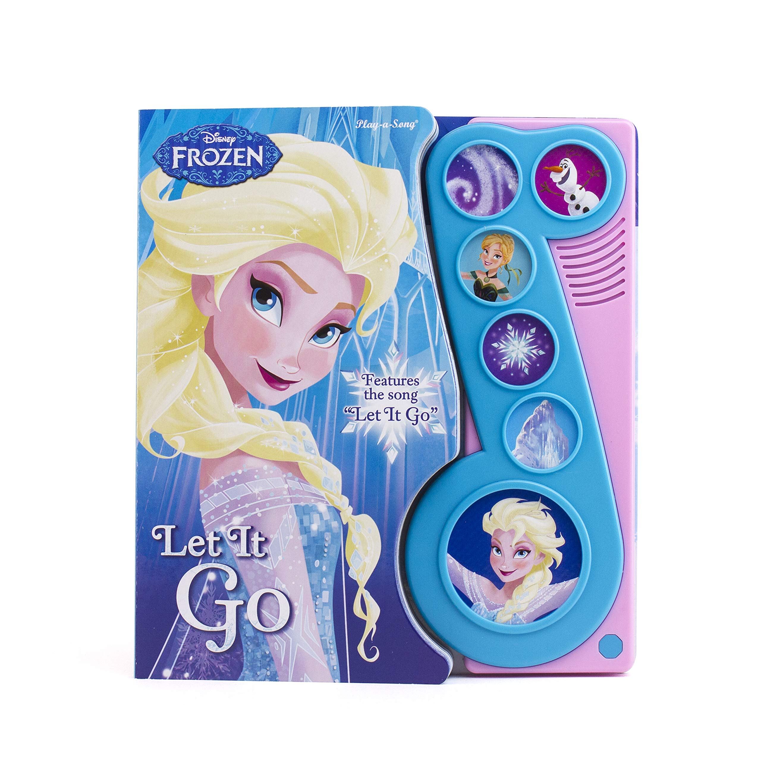 Frozen Let It Go Little Music Note Sound Book by Pl Kids (Image #1)