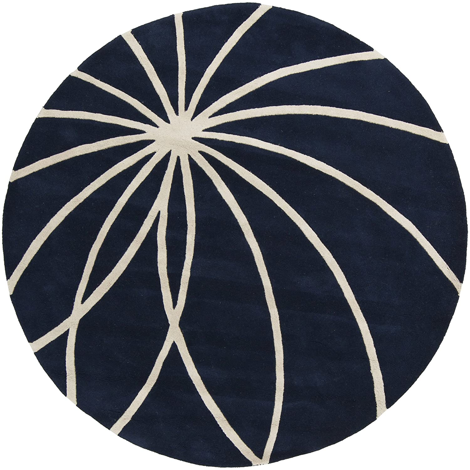 Surya Forum FM-7184 Contemporary Hand Tufted 100% Wool Bay Leaf 2' x 3' Abstract Accent Rug FM7184-23