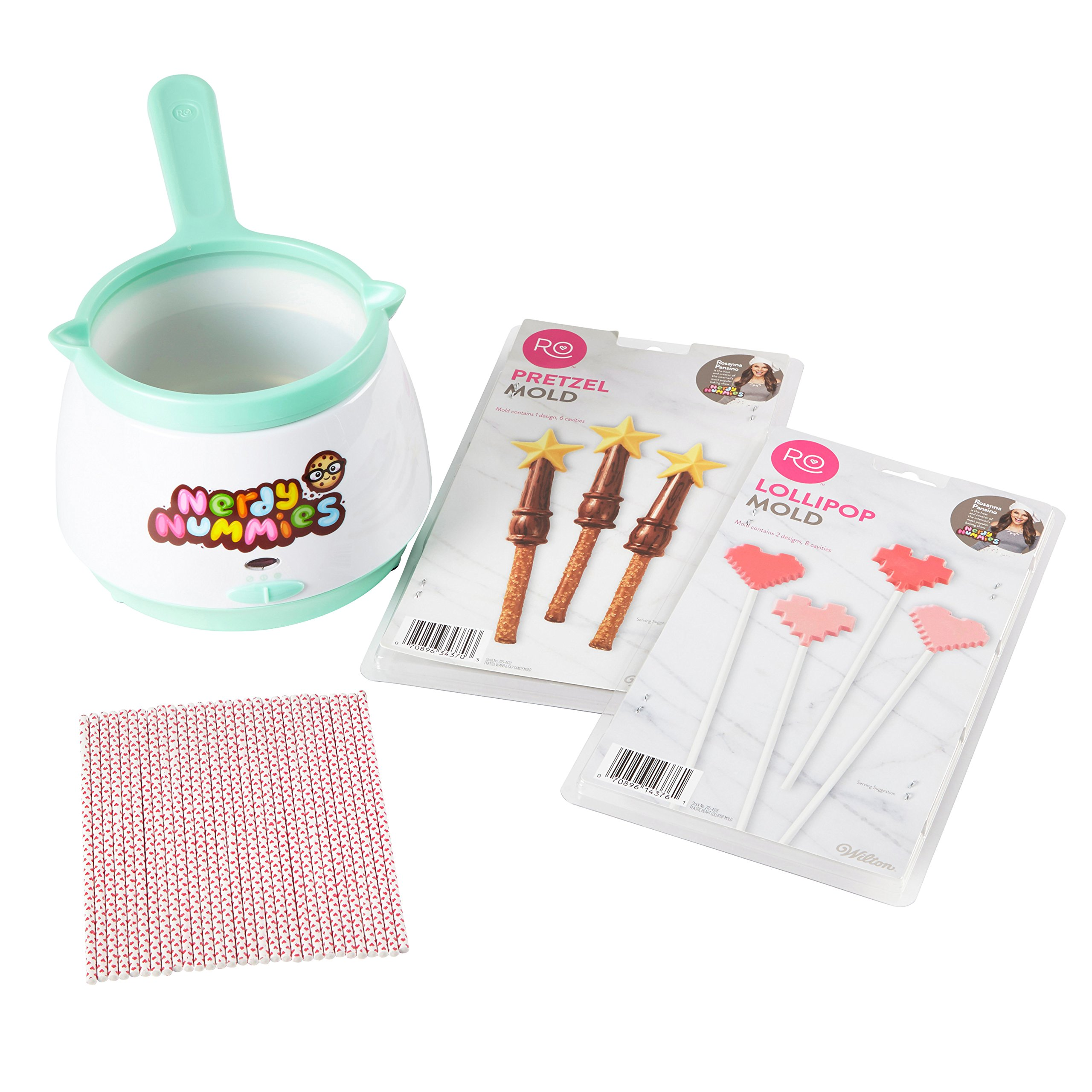 Rosanna Pansino by Wilton Nerdy Nummies Candy Lollipop Set by Wilton