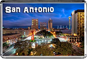 USA E366 SAN Antonio Fridge Magnet Travel Photo Refrigerator Magnet