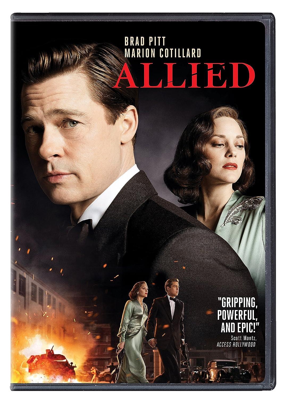 Allied (DVD 2016) NEW MOVIE *Drama, Thriller, Romance, War ...