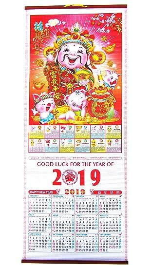 Chinesischer baby kalender 2019