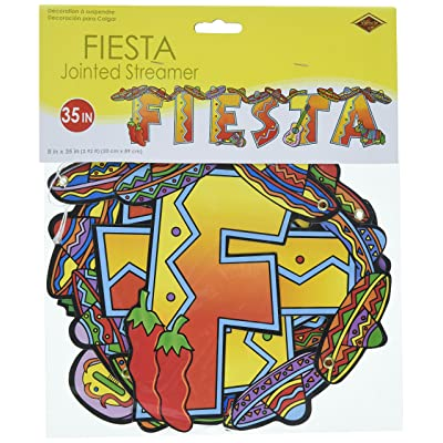 Fiesta Streamer Party Accessory (1 count) (1/Pkg): Kitchen & Dining