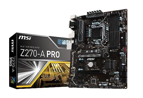 MSI Pro Series Intel Z270  : pour les amateurs d'Intel
