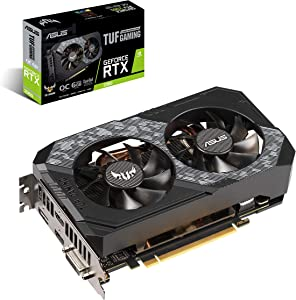 ASUS TUF-RTX2060-O6G-GAMING GeForce RTX 2060 6 GB GDDR6 - Tarjeta gráfica (GeForce RTX 2060, 6 GB, GDDR6, 192 bit, 7680 x 4320 Pixeles, PCI Express 3.0)