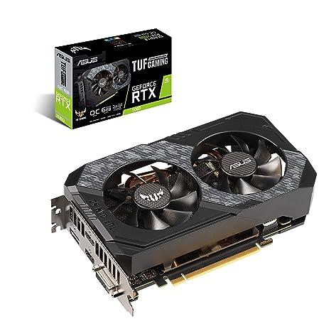 ASUS TUF-RTX2060-O6G-GAMING GeForce RTX 2060 6 GB GDDR6 - Tarjeta ...