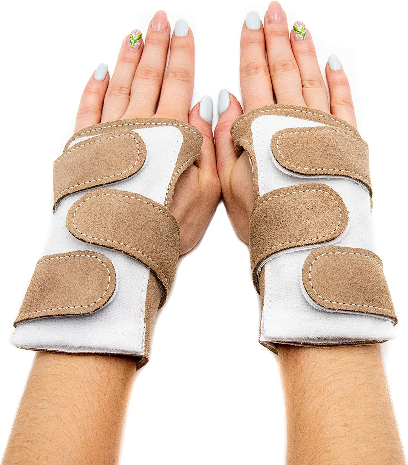 Our Wrist Support Wraps Come with a Replaceable Foam pad. Comfortable /& Low Profile Injury Prevention Panda Paws Gymnastics Wrist Support Wraps Wrist Support Wraps