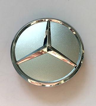 Tapacubos para Mercedes Benz, 4 unidades x 60 mm: Amazon.es: Coche y moto