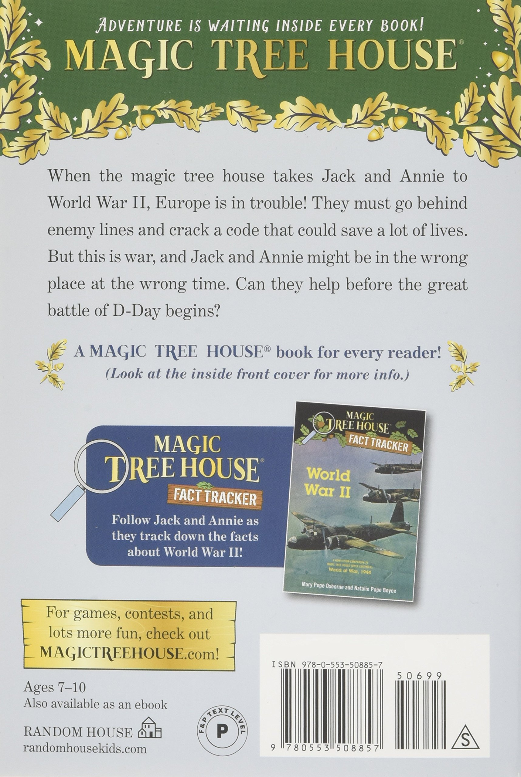 Good Treehouse Supplies Coupon Code Part - 4: Amazon.com: World At War, 1944 (Magic Tree House (R) Super Edition)  (9780553508857): Mary Pope Osborne, Sal Murdocca: Books