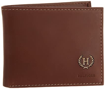 b6e854ae7 Image Unavailable. Image not available for. Colour  Tommy Hilfiger Men s  Leather Hove Passcase Billfold Wallet ...
