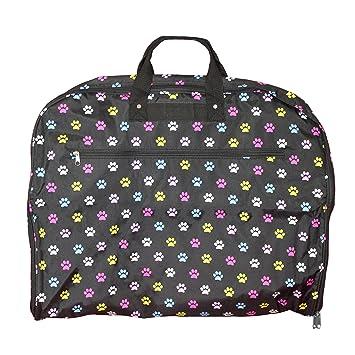 428ab46c544f Amazon.com | World Traveler 40-inch Hanging Garment Bag-Multi Paws ...
