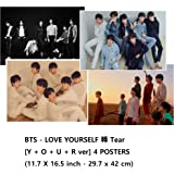 Amazon Price History for:Bts LOVE YOURSELF ? Tear [Y+O+U+R ver] 4 POSTERS(11.7 X 16.5 inch)
