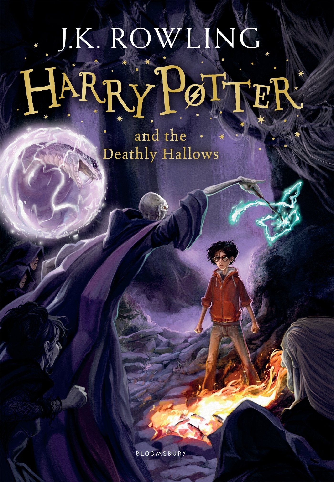 Resultado de imagen para harry potter and the deathly hallows book