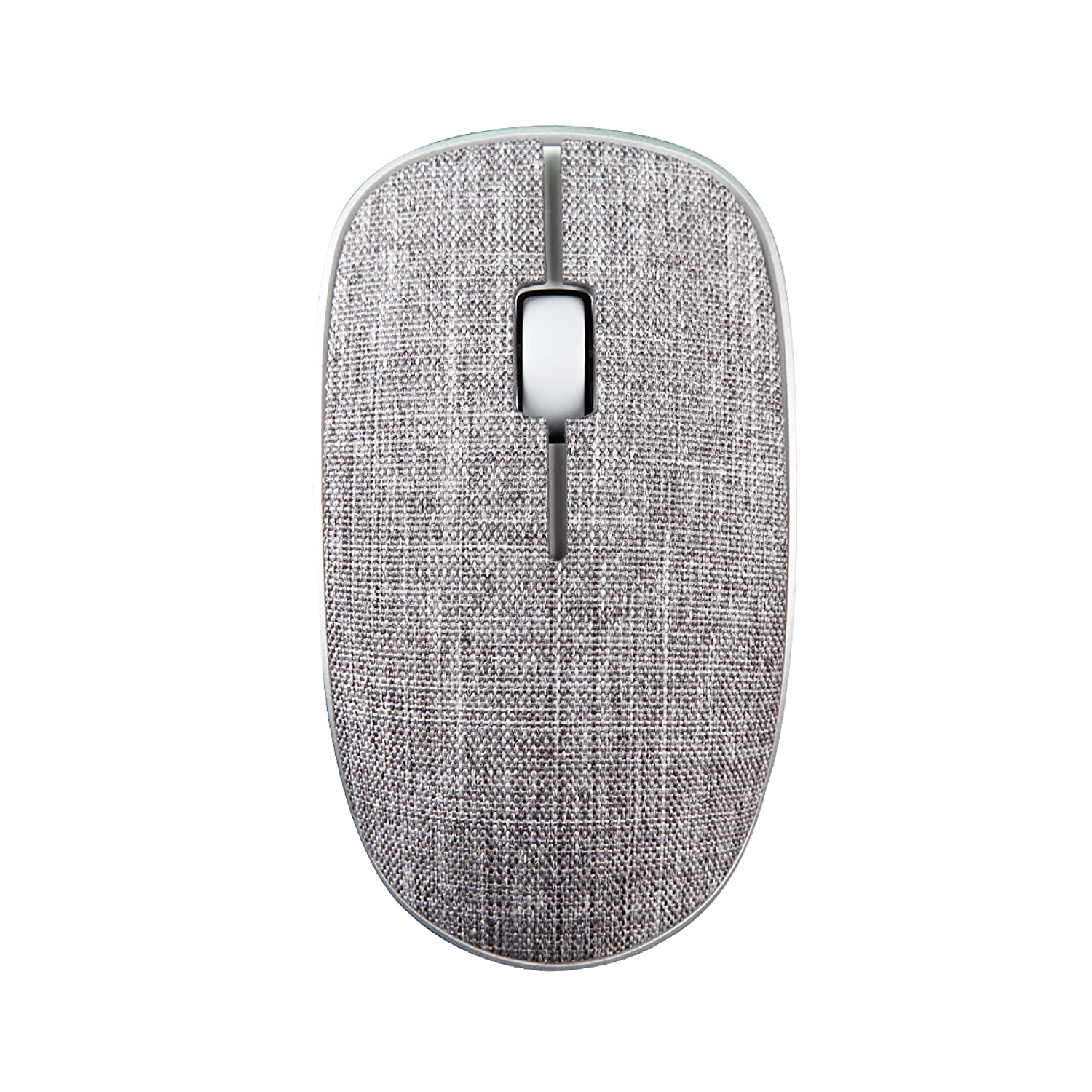 Rapoo 3510 Plus Wireless Optical Mouse(Grey)