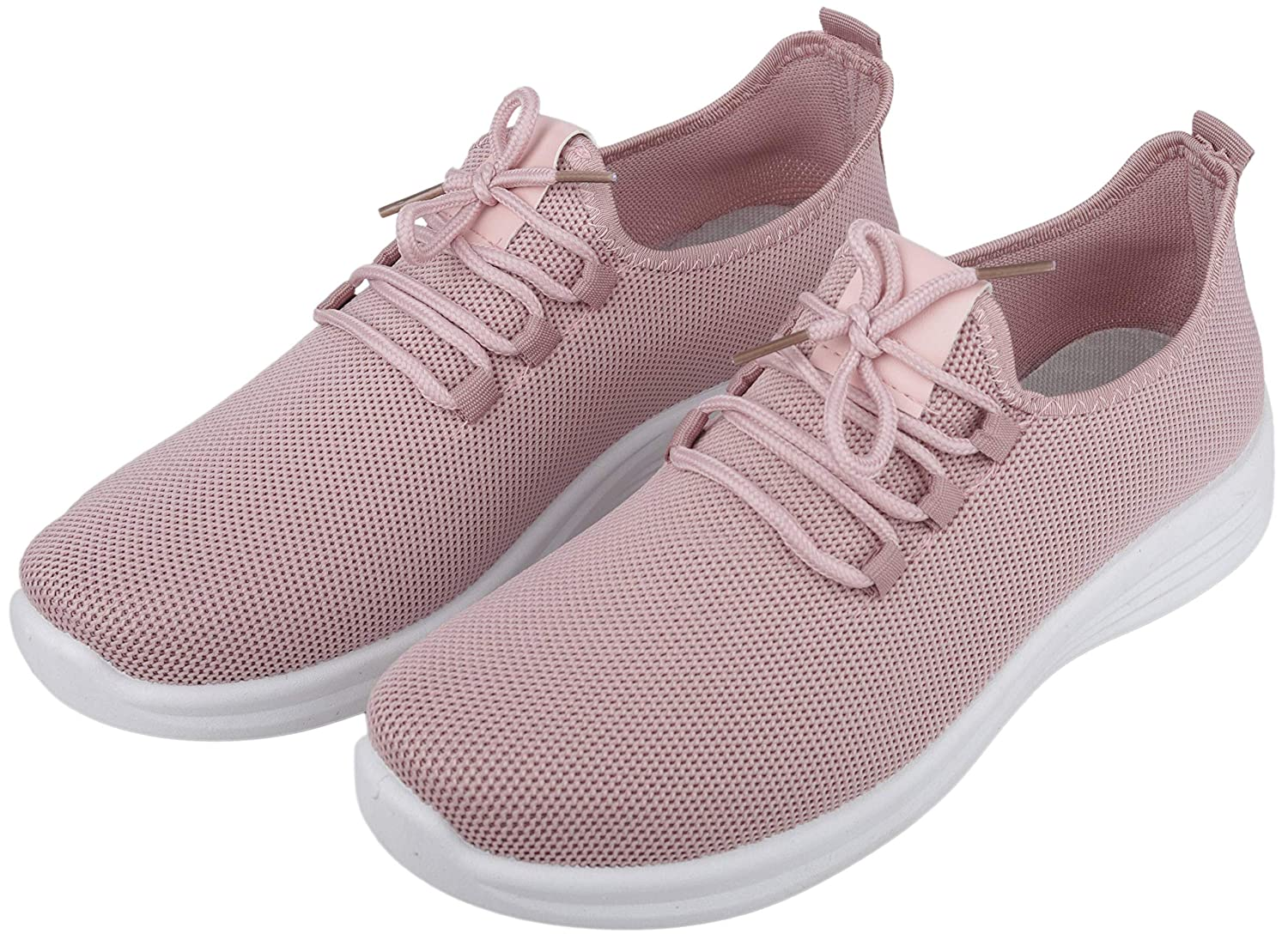 Lightweight Casual Shoes (Peach