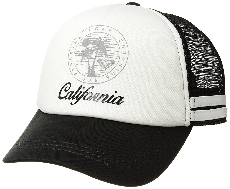 Roxy Junior s Sunshine Sweetness California Dig This Trucker Hat ... b39d7a0948