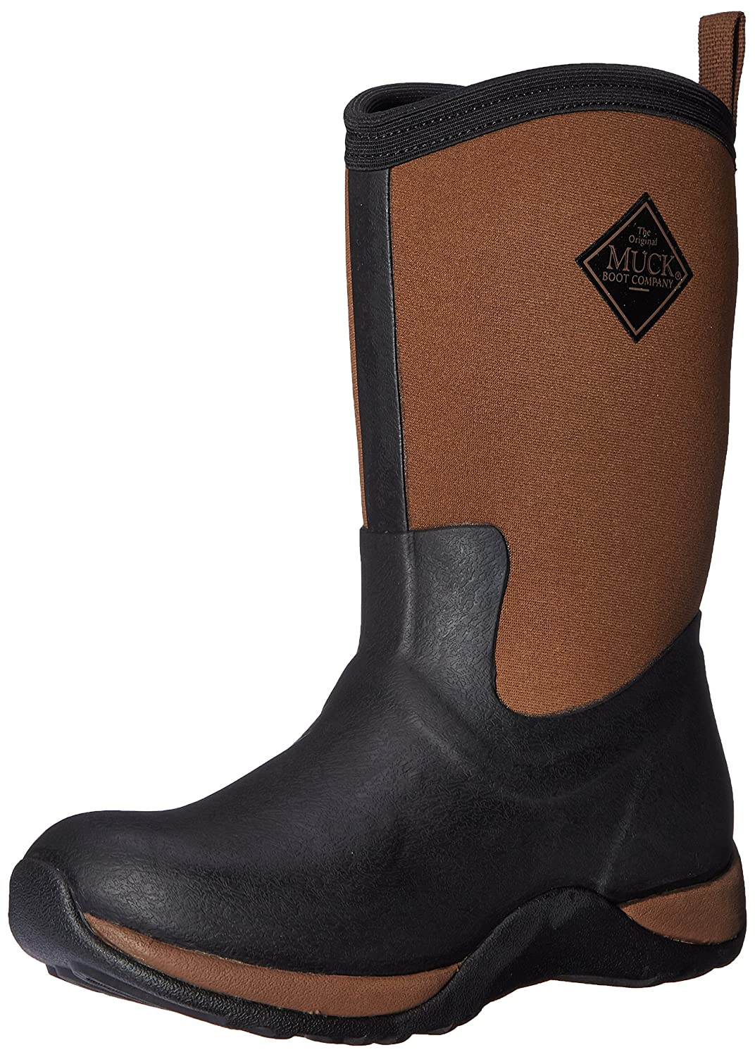 Muck Boot Women's Arctic Weekend Mid Snow B00TT34PZA 10 B(M) US|Black/Tan