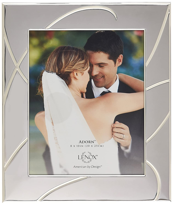 Lenox Bridal Adorn Frame, 8 by 10-Inch 837363