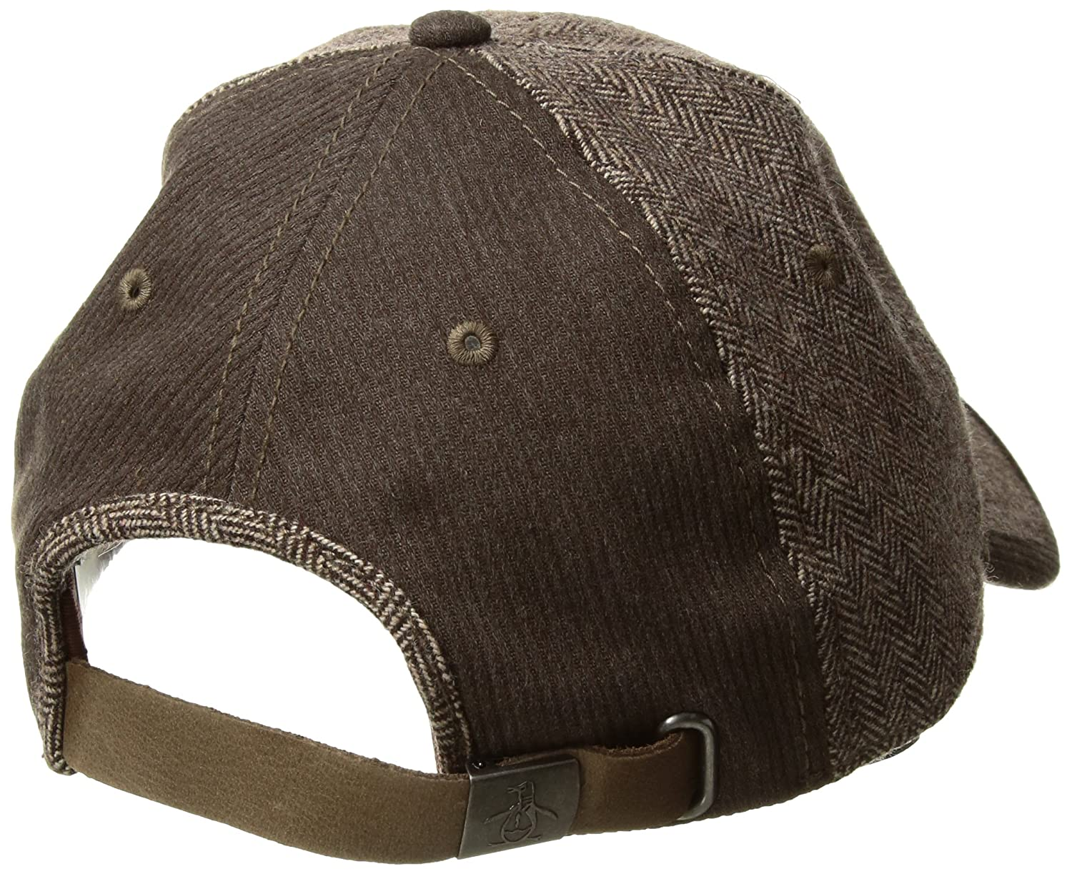 Original Penguin Men s Herringbone Baseball Cap 3e88edca022