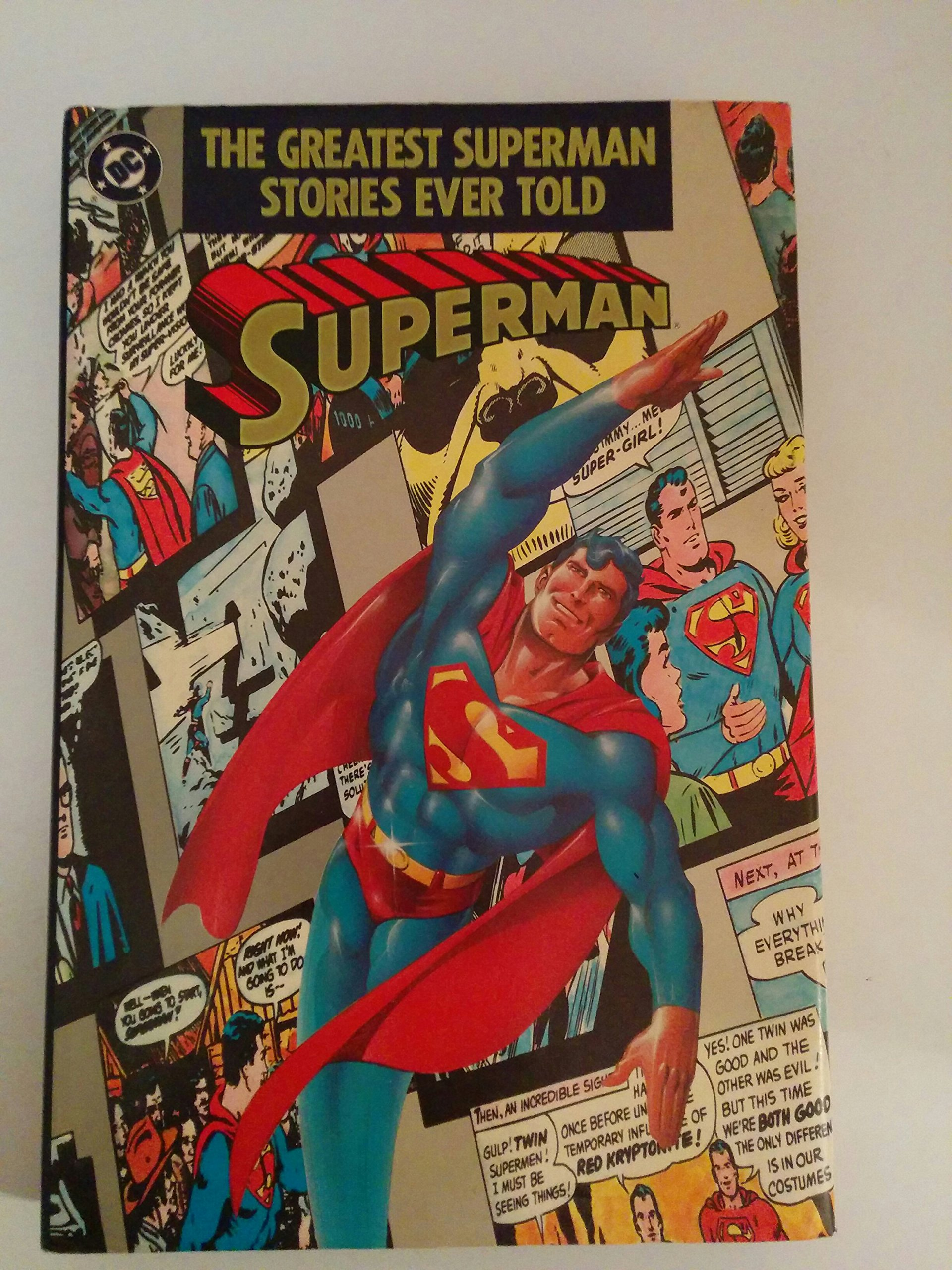 Amazon.com: The Greatest Superman stories ever told (9780930289294 ...