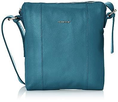 aad4b209ed Paquetage Cross Over Cuir, Womens Cross-Body Bags, Blue (Bleu (Bleu 013)),  One Size: Amazon.co.uk: Shoes & Bags