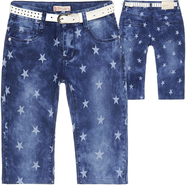68e55592f6ee6f BEZLIT BEZLIT Mädchen Jeans Shorts 3 4 Kurze Hose 22664 Jeanshosen   Amazon.de  Bekleidung