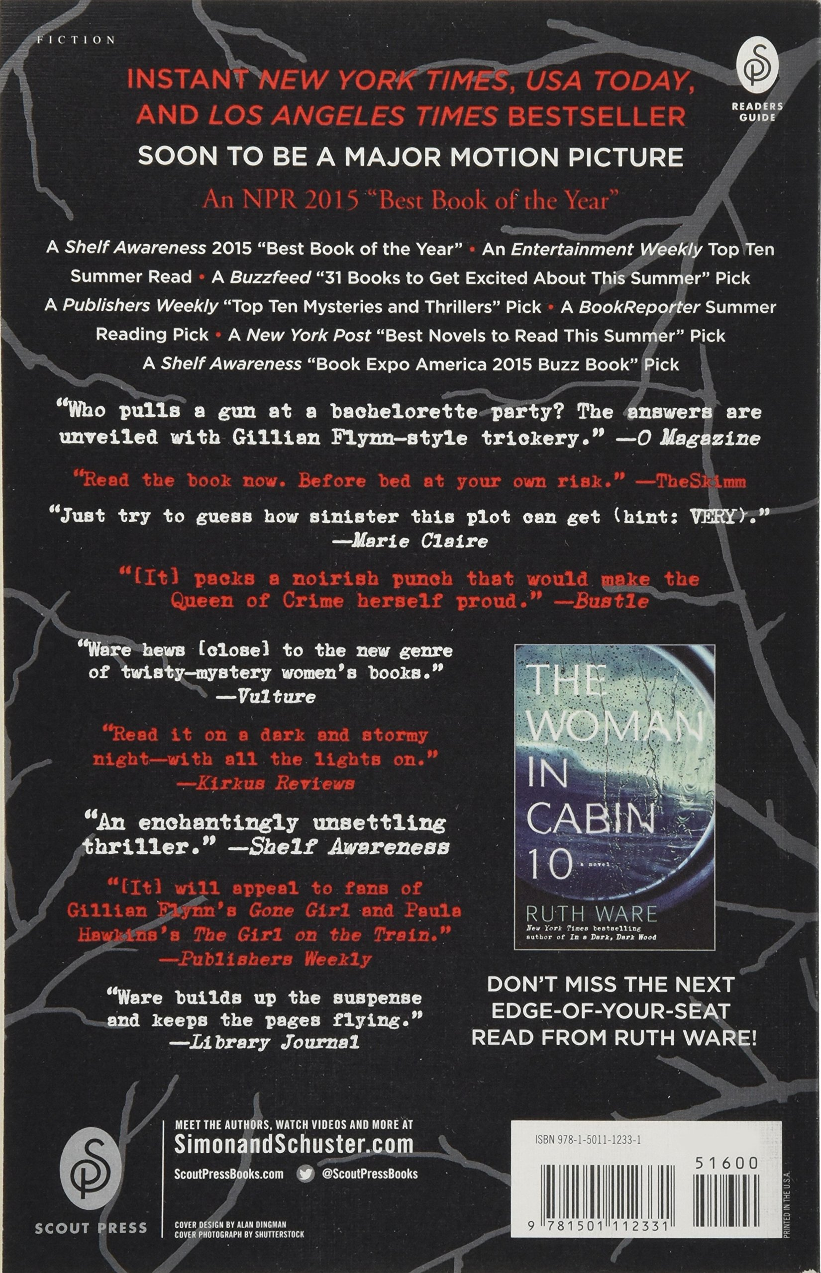 Amazon com: In a Dark, Dark Wood (9781501112331): Ruth Ware: Books