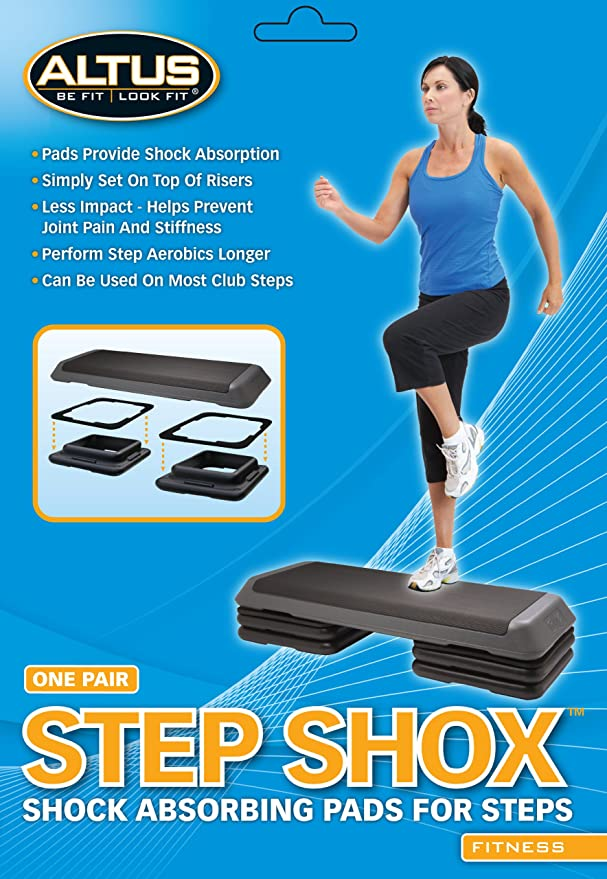 Amazon.com : Altus Athletic Cathe Fitness Step Shox Pair : Exercise  Equipment : Sports U0026 Outdoors