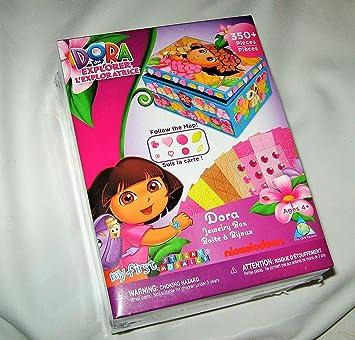 Amazoncom Dora the Explorer My First Sticky Mosaics Jewelry Box