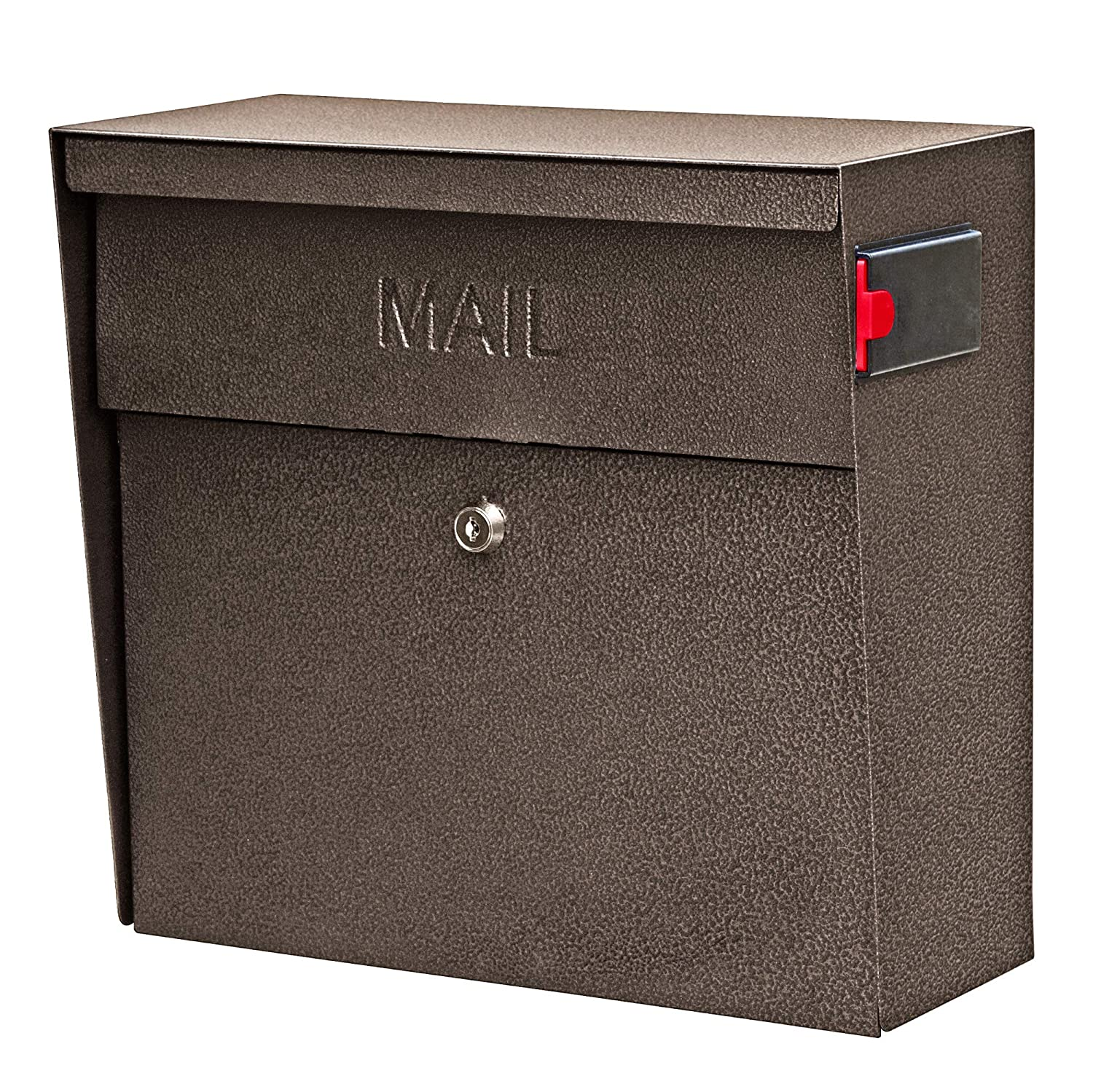 5. Mail Boss 7164 Metro Locking Wall Mount Mailbox