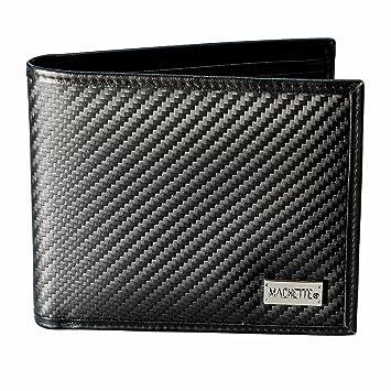 f219b89a35602 MACHETTE® Boss - dreiteilige Herren-Brieftasche aus KOHLEFASER