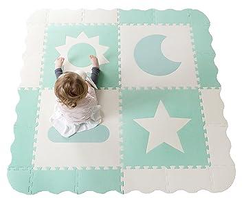Amazon Com Baby Play Mat Tiles 61 X 61 Extra Large Non