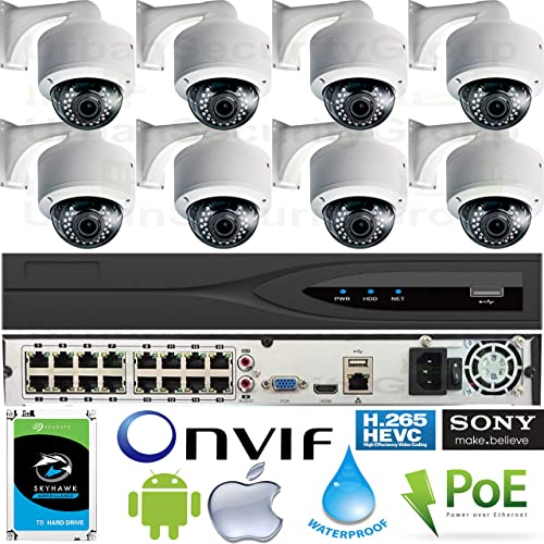 Urban Security Group Business Grade 5MP 8 Camera Security System