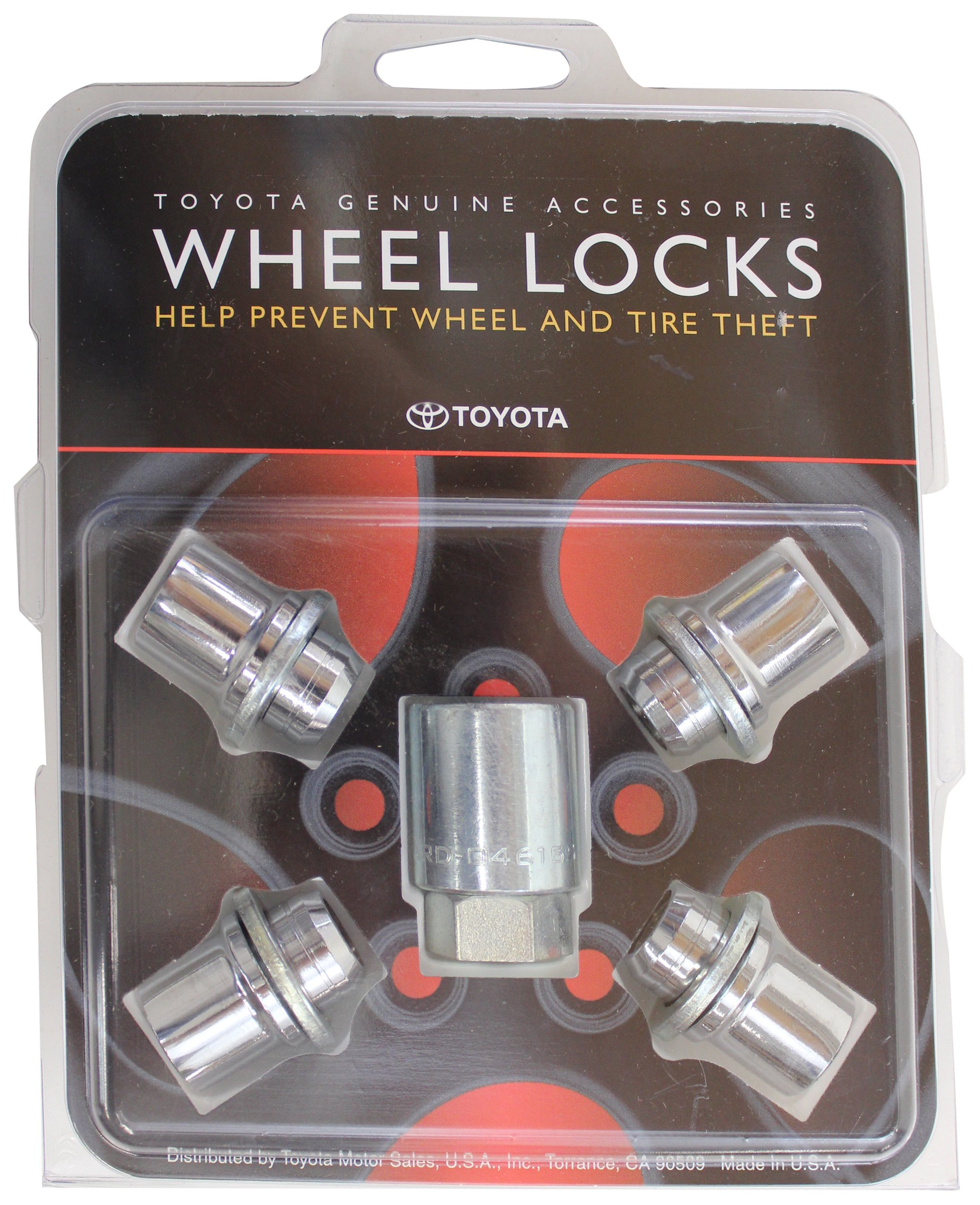 TOYOTA Genuine Accessories 00276-00900 Wheel Lock by TOYOTA