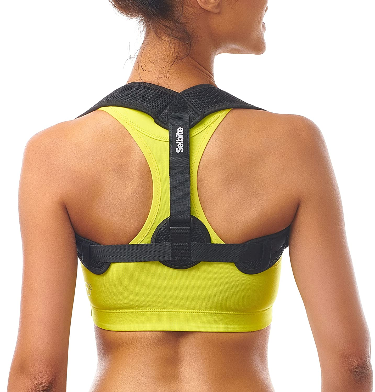 31ebd92c031 Amazon.com  Posture Corrector for Women Men - Posture Brace - Adjustable  Back Straightener - Discreet Back Brace for Upper Back Pain Relief -  Comfortable ...