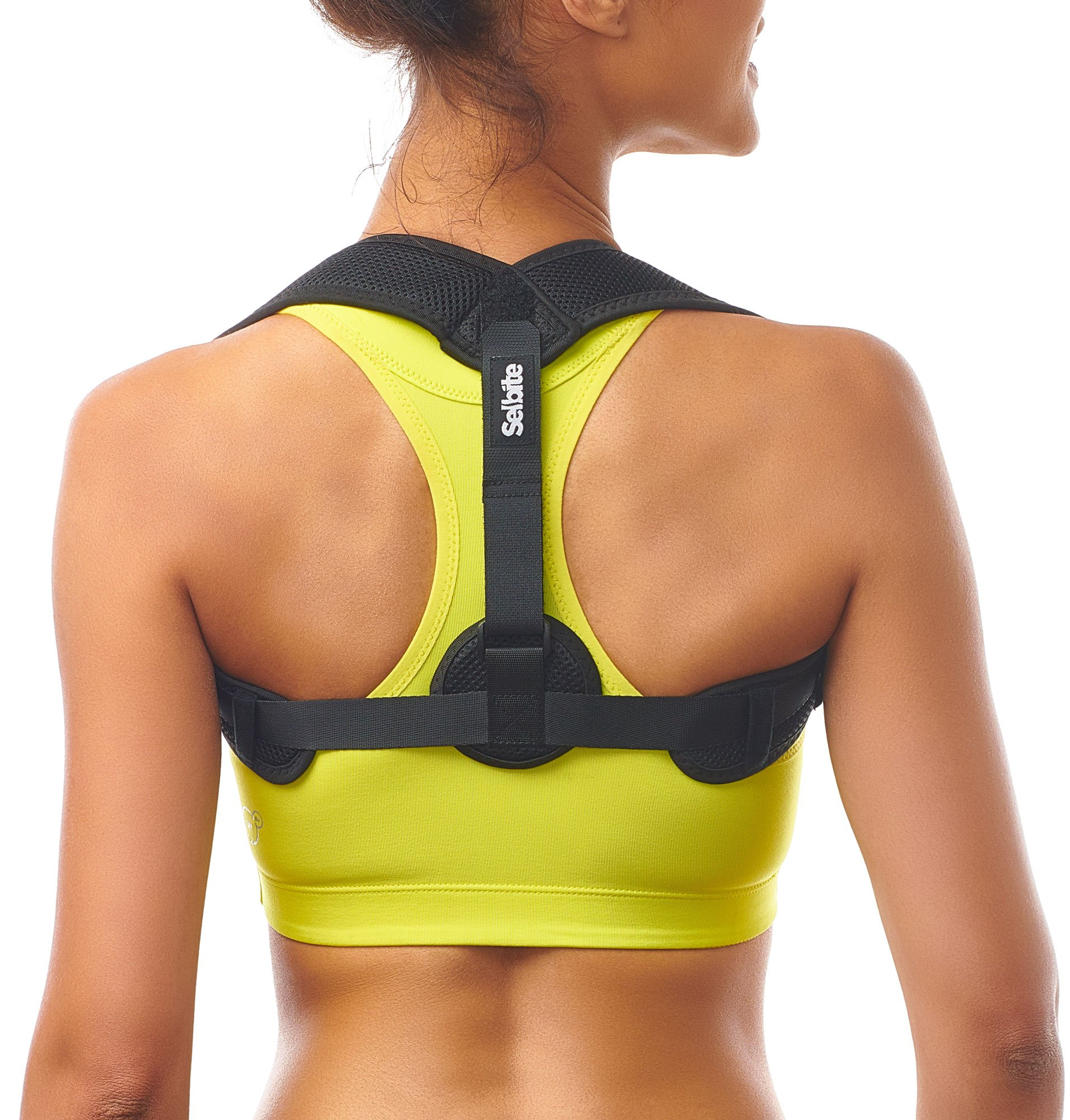 Posture Corrector for Women Men - Adjustable Back Straightener Posture Brace - Discreet Back Brace for Upper Back Pain Relief - Comfortable Posture Trainer for Spinal Alignment & Posture Support
