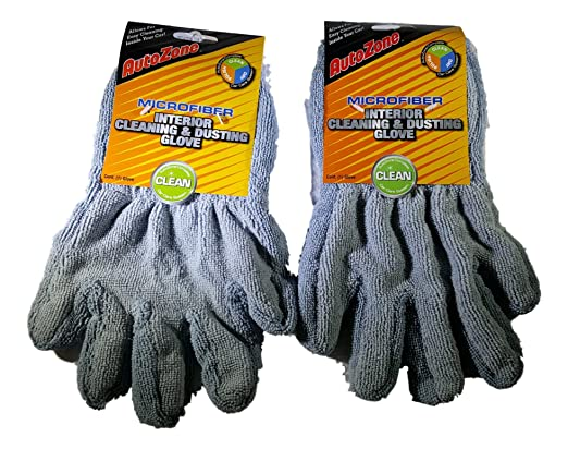 autozone Microfiber Interior Cleaning dusting Glove Complete car