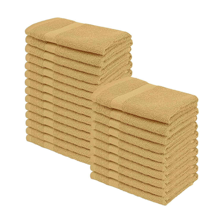 Superior Eco-Friendly 100/% Cotton Towel Set 6 Piece Ivory