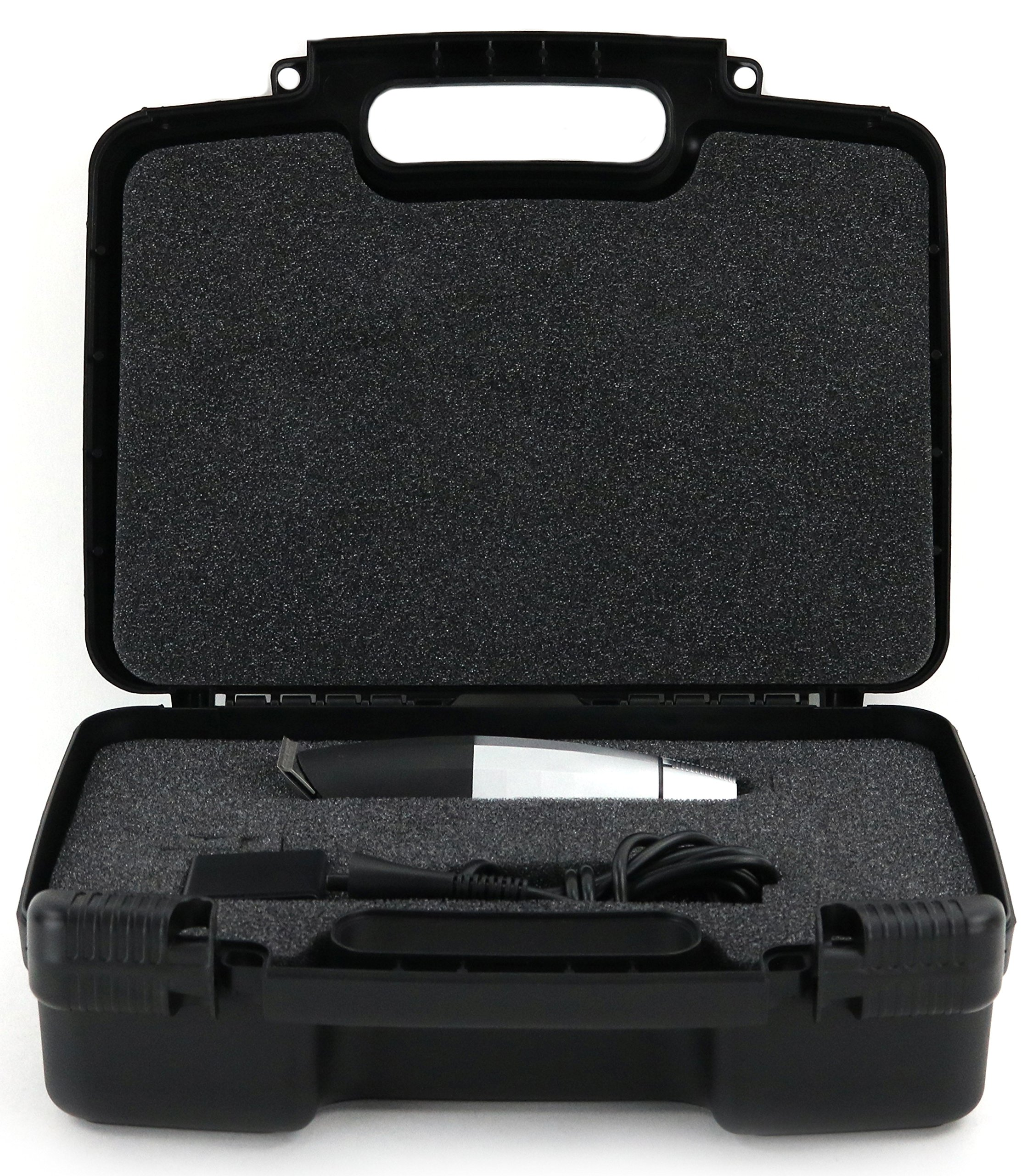 Life Made Better Storage Organizer - Compatible with Bevel Trimmer - Durable Carrying Case - Black