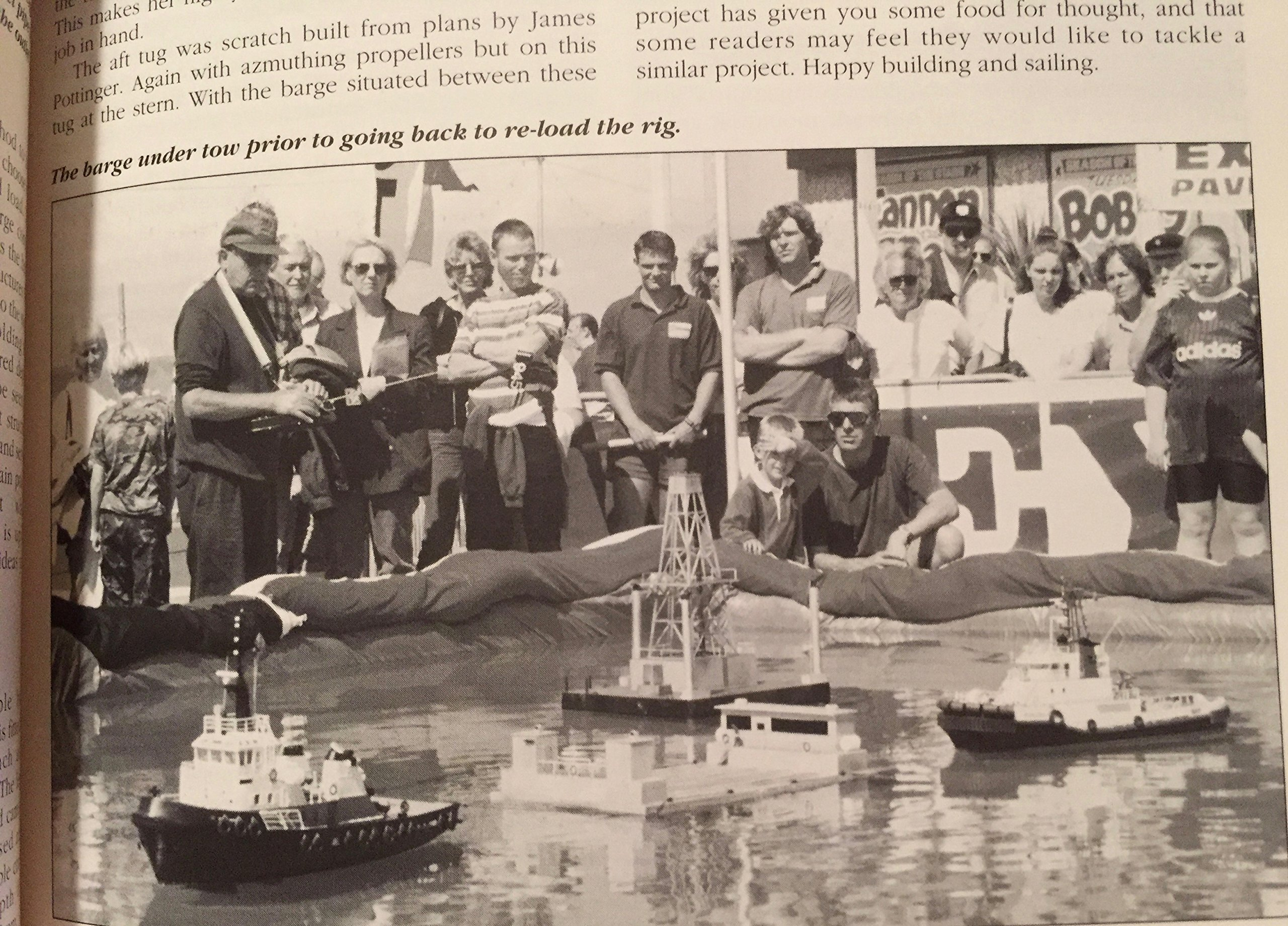 Tug Boat Book: Building Large Scale Model Tugs (The