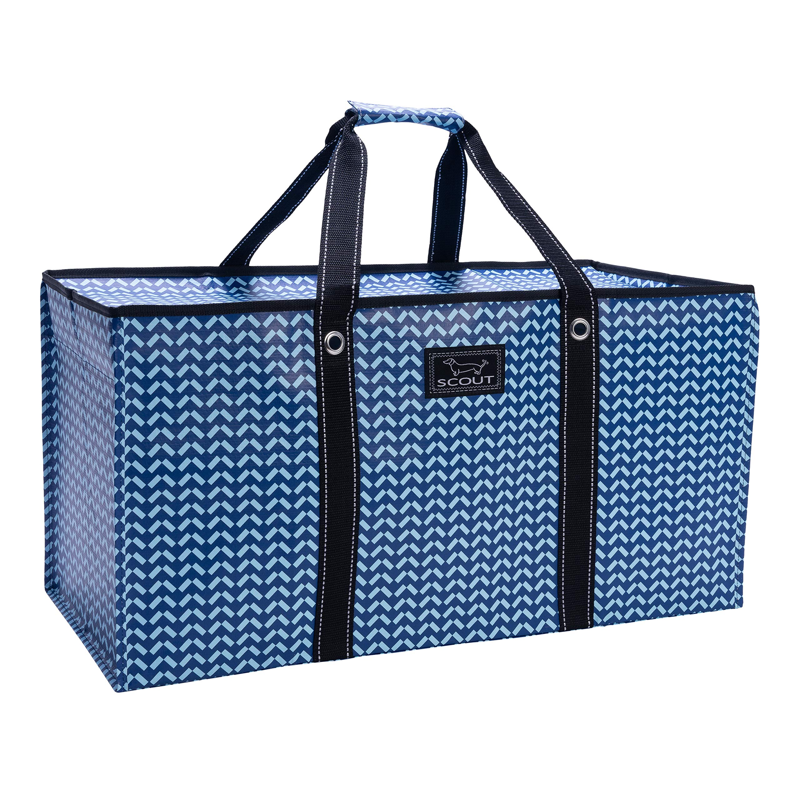 SCOUT Errand Boy Extra Large Tote Bag, For Grocery and Storage, Folds Flat, Reinforced Handles, Water Resistant, Winging It