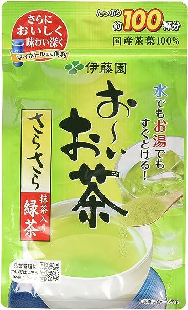 伊藤園 おーいお茶 抹茶入りさらさら緑茶 80g