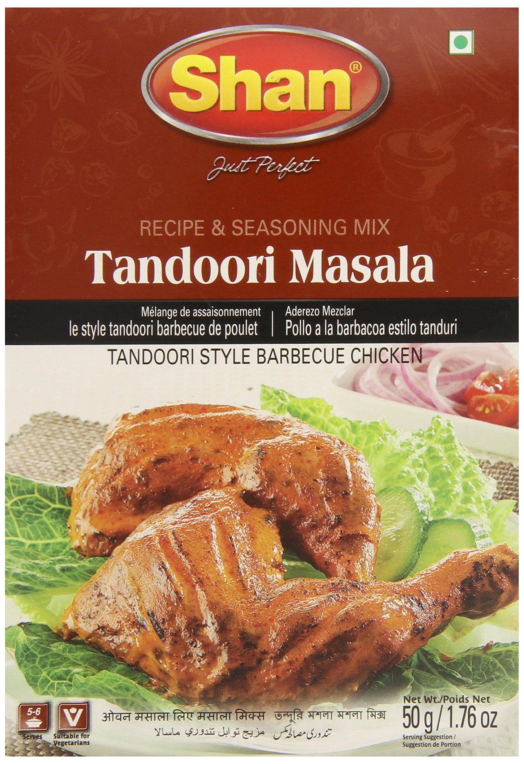Shan BBQ Masala Mix, Tandoori Chicken, 1.7 Ounce